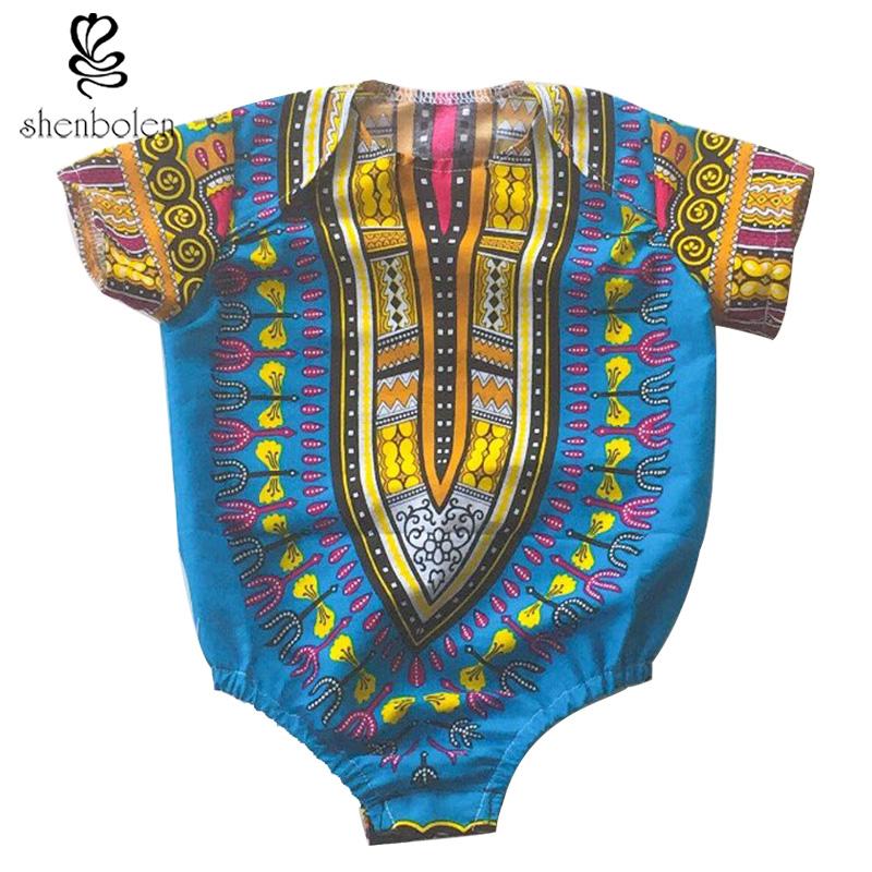 8c42f8ba970f 2017 african fashion batik wax dashiki printing pure cotton Jumpsuits kid  clothes T shirt Children's clothing boys and girl – USA Buy Black